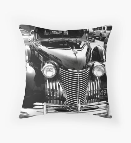 Cadillac Black Throw Pillow