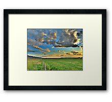 Country Sunset 3 Framed Print