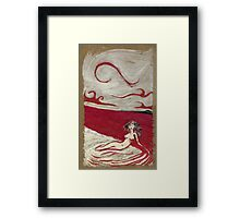 Mermaid Of Blood Framed Print