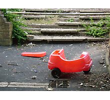 Little red car. Photographic Print