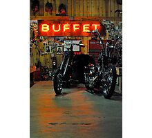 the buffet Photographic Print