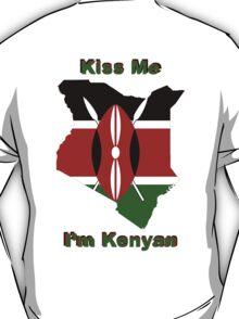 Kiss Me I'm Kenyan T-Shirt