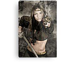 Comic book fantasy Metal Print