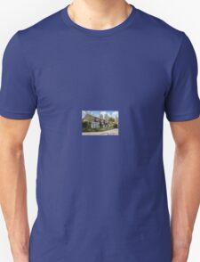 Quaint English Thatched Cottage Unisex T-Shirt