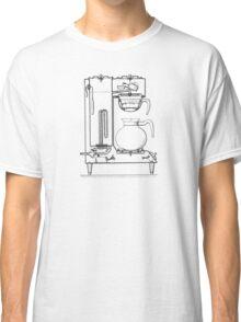 Half & half black Classic T-Shirt