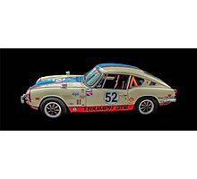 Triumph GT 6+ Race Car Photographic Print