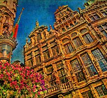 The Guild houses of the Grand'Place. Brussels. Belgium by vadim19