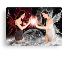 good vrs. eveil Canvas Print