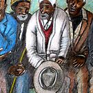 """""""old men at bus stop"""" by joshua bloch"""
