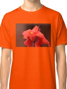 Red Canna Lilies Classic T-Shirt