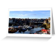 Peaceful Town Greeting Card