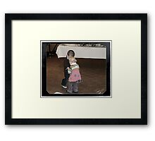 Their Very First Dance - Hello Young Lovers Framed Print