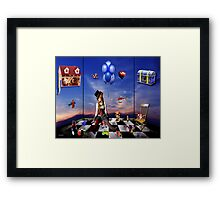 the toy room  Framed Print