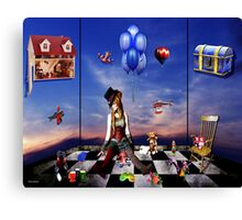 the toy room  Canvas Print