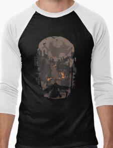 Blood Encounter Men's Baseball ¾ T-Shirt
