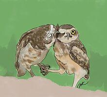 Owl Love by Danielle Keltner