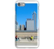 Bikes Among The Buildings Chicago Illinois USA iPhone Case/Skin