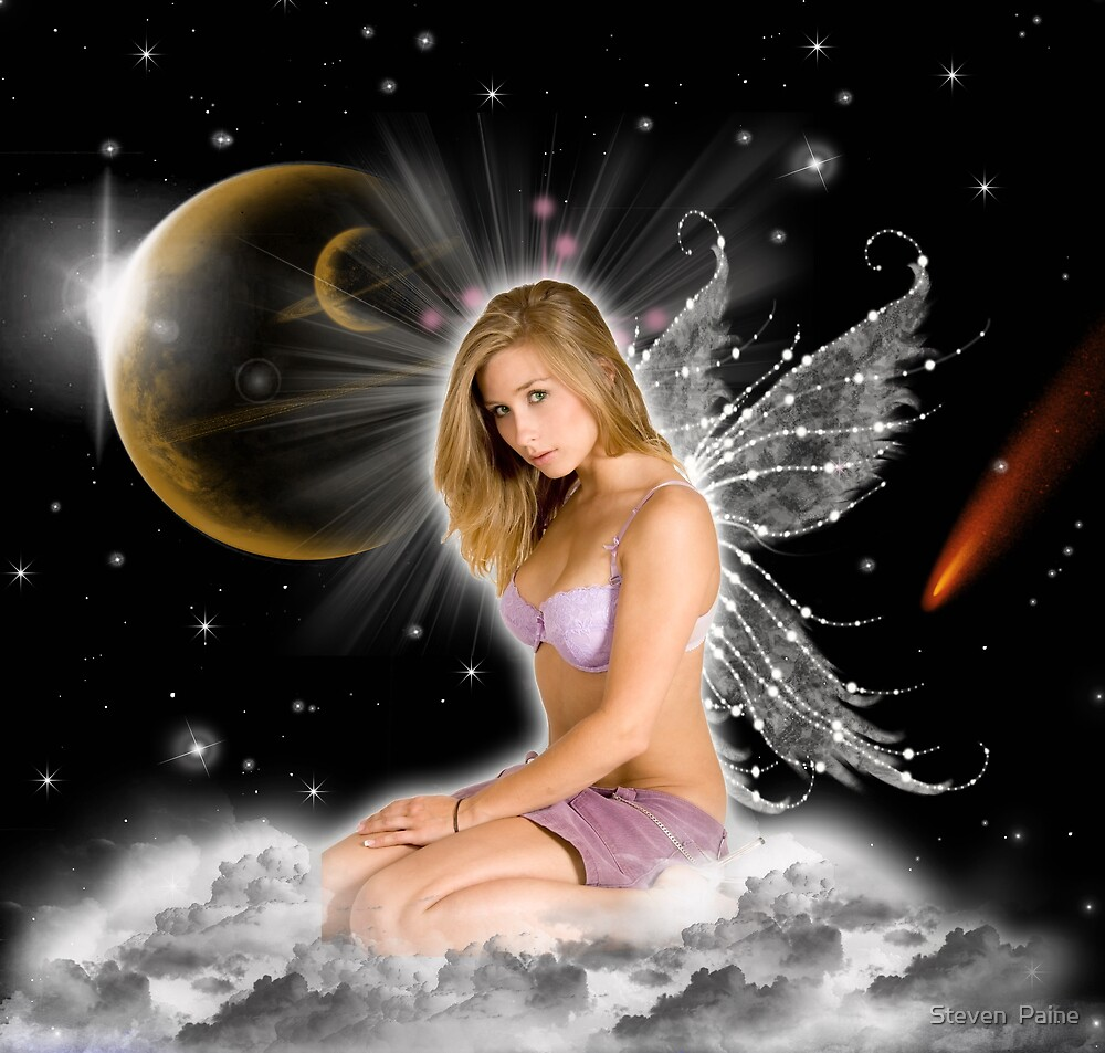 Quot Sexy Angel Quot By Steven Paine Redbubble