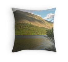 Thirlmere and Brown Crag Throw Pillow