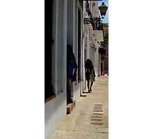 Old San Juan Puerto rico  Photographic Print