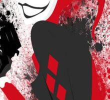 brush Harley Quinn brush Sticker