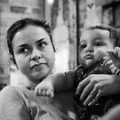 la doncella y el bebé by Brendon Earl Fallon