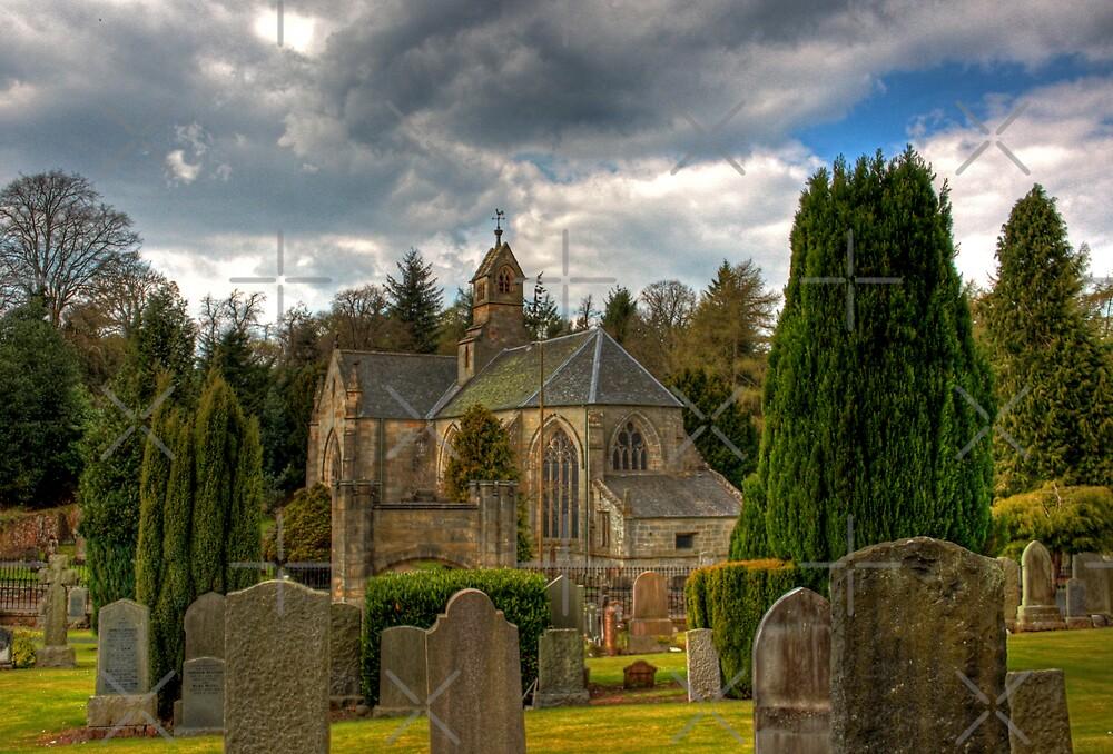 Mid Calder Church by Tom Gomez