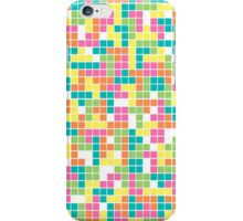 Colorful Tetris Pattern iPhone Case/Skin