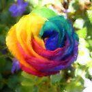 Power Flower by Francis mcKinney