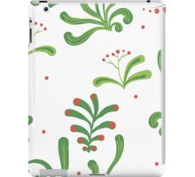 Elegance Seamless pattern with flowers, vector floral illustration in vintage style iPad Case/Skin