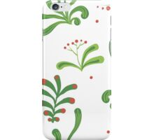 Elegance Seamless pattern with flowers, vector floral illustration in vintage style iPhone Case/Skin