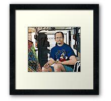 """I see gears"" Framed Print"