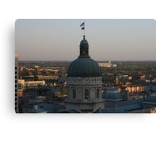 Sunrise At The Capital Canvas Print