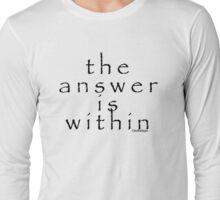 look in Long Sleeve T-Shirt