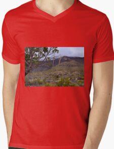 Rolling Fog in McKittrick Canyon Mens V-Neck T-Shirt
