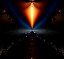 Fractal Lamp by Dana Roper