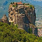 Monastery of the Holy Trinity, Meteora by Konstantinos Arvanitopoulos