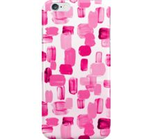 Pink brushes iPhone Case/Skin
