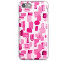Pink brushes iPhone Case/Skin