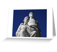 Monumento al Jibaro Greeting Card