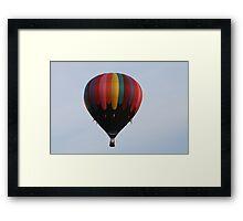 Hot Air Framed Print