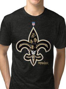 New Orleans Football Tri-blend T-Shirt