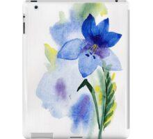 beautiful illustration of Hand Painted flower Wild  iPad Case/Skin