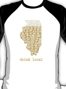 Drink Local - Illinois Beer Shirt T-Shirt