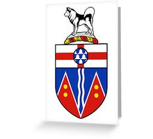 Yukon Coat of Arms Greeting Card
