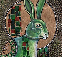 Icon III: The Rabbit by Lynnette Shelley