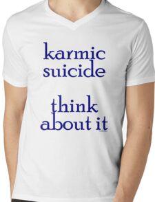 karma2 Mens V-Neck T-Shirt