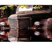 Bad Brake I Guess  Photographic Print