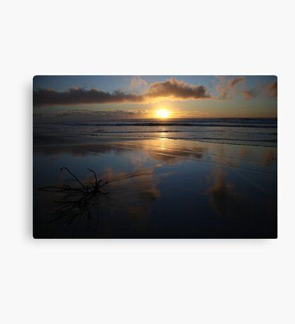 Reflection on Fraser  Canvas Print