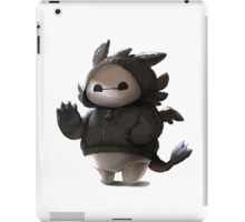 baymax like as toothless iPad Case/Skin